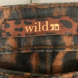 Joe's Jeans Jeans - Joe's Jeans Wild leopard print skinny jeans S 24